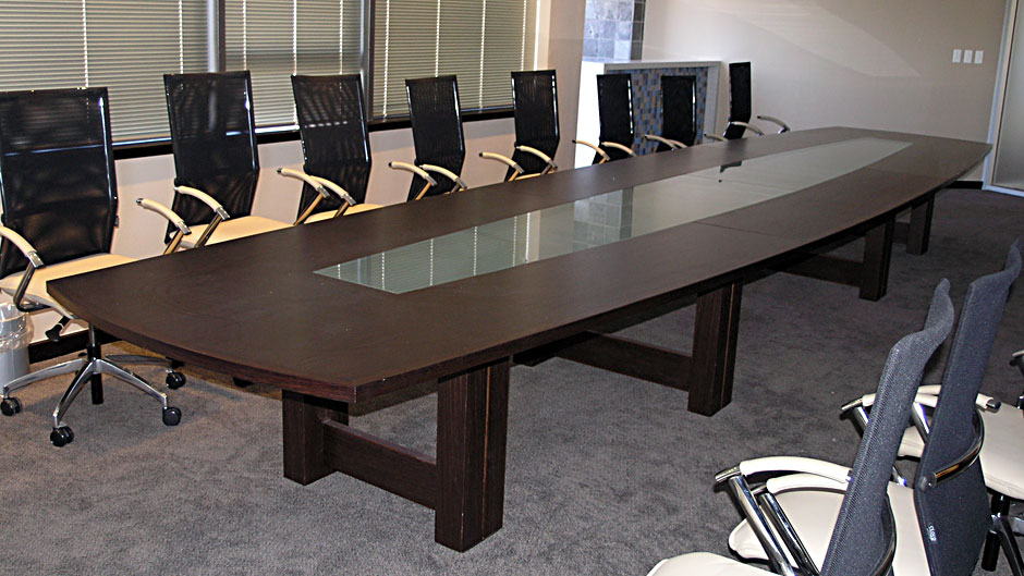 Boardroom Table Wenge Solid And Veneer Innovative Joinery