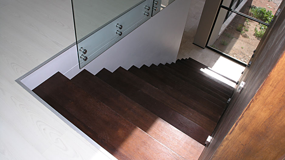 Stairtreads Solid African Mahogany